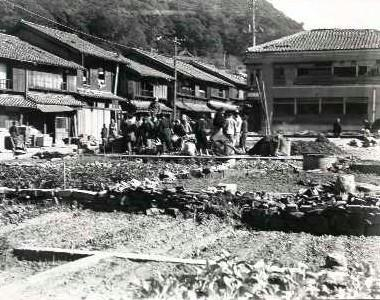 Scenery of a town